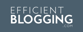 Efficient Blogging Logo
